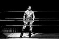 HBK getting ready for battle
